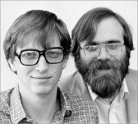 Business Partners - Bill Gates and Paul Allen