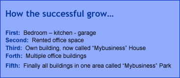 How businesses grow