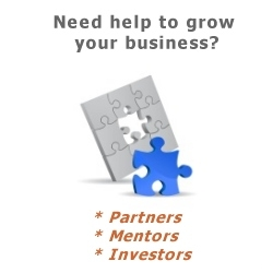 Business angels, partners and Mentors
